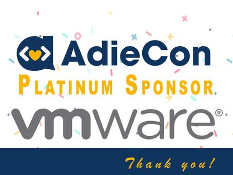 Welcome Platinum Sponsor VMware