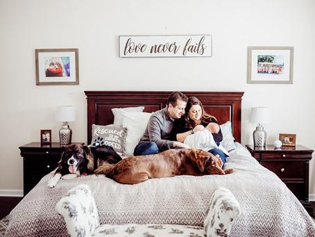 Andert Family Coming Home || Carmel Newborn Lifestyle Photographer