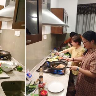 Fully fledged kitchen