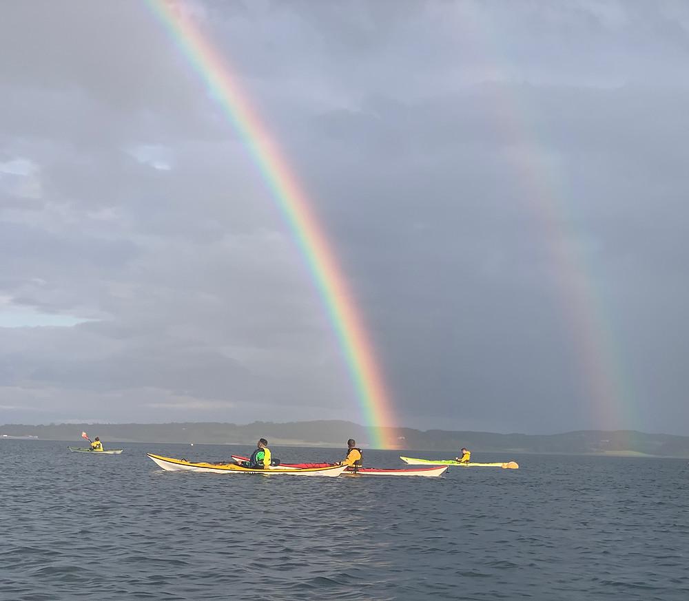 Rainbow on Strangford Lough