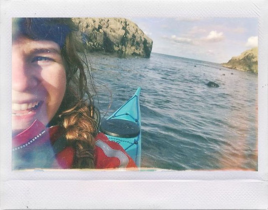Best thing about sea kayaking - Seals!!