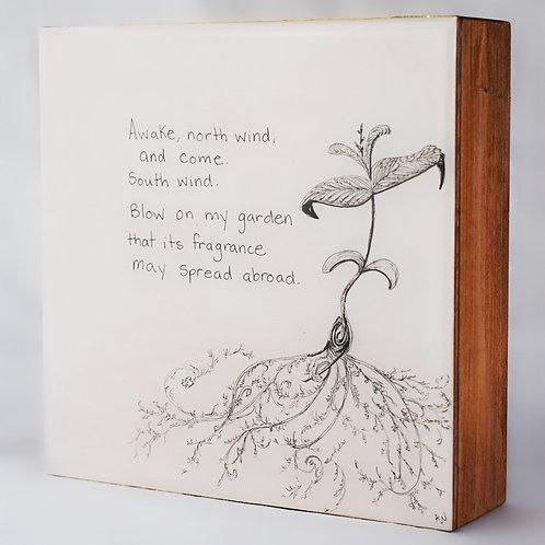Sprouting Joy (6x6)
