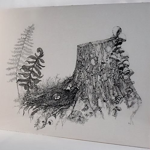"""Forest Cities (18""""x24"""")"""