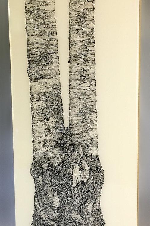 "12""x24"" Ancient Trees"