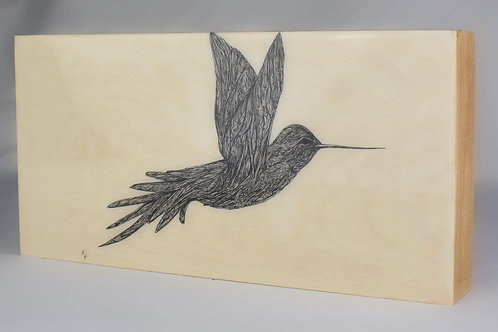 "6""x12"" Native Birds"
