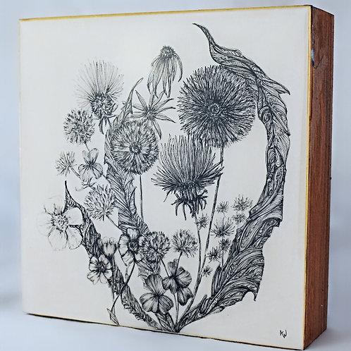 A Child's Bouquet (6x6)