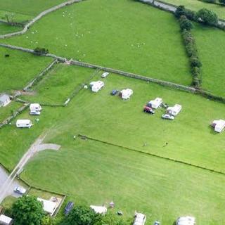 Birdseye View of Argoed farm Holidays