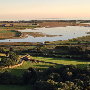 Estaury View at Argoed Farm Holidays North Wales