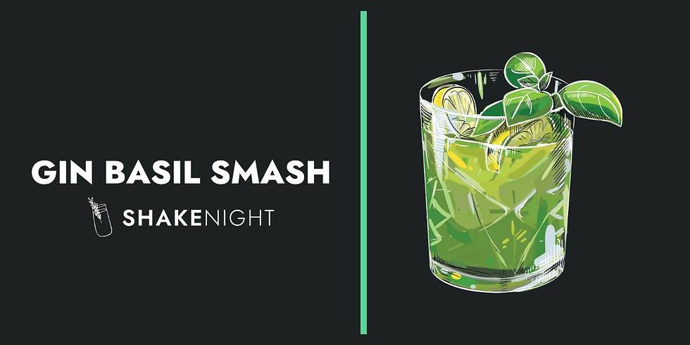 GIN BASIL SMASH Shake Night