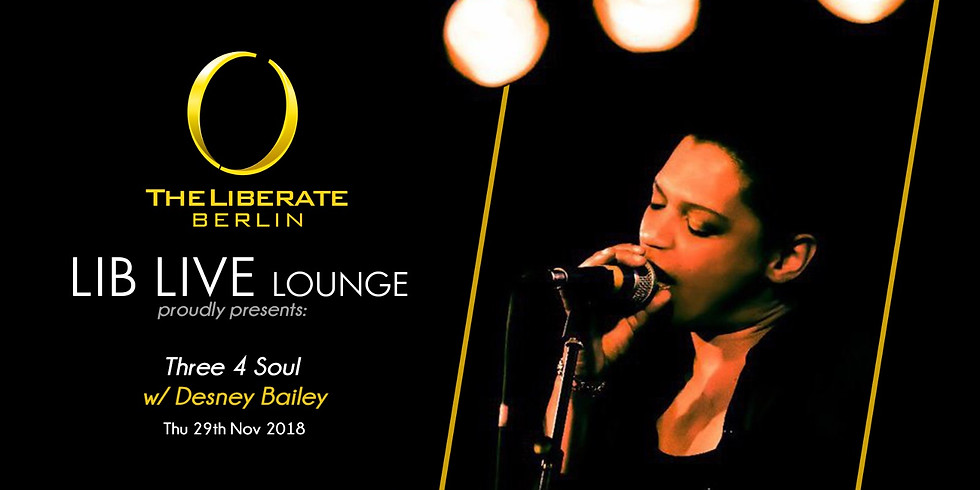 LIB LIVE LOUNGE & DESNEY BAILEY