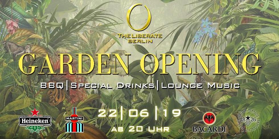 Official Garden Opening