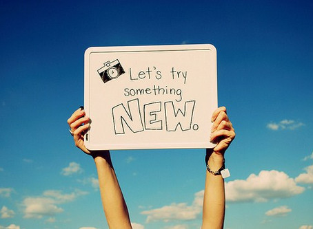 Try something new!