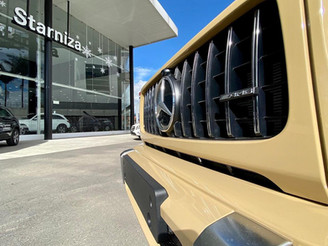 La Clase G de Mercedes-Benz más fuerte que el tiempo