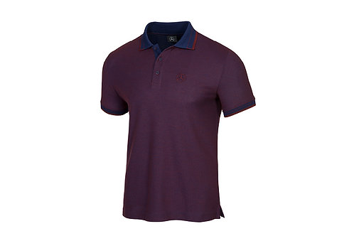 Camiseta tipo Polo Morada