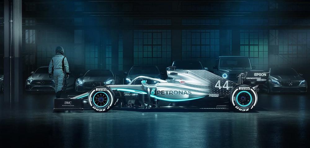 Mercedes Benz F1 Starniza Bogota
