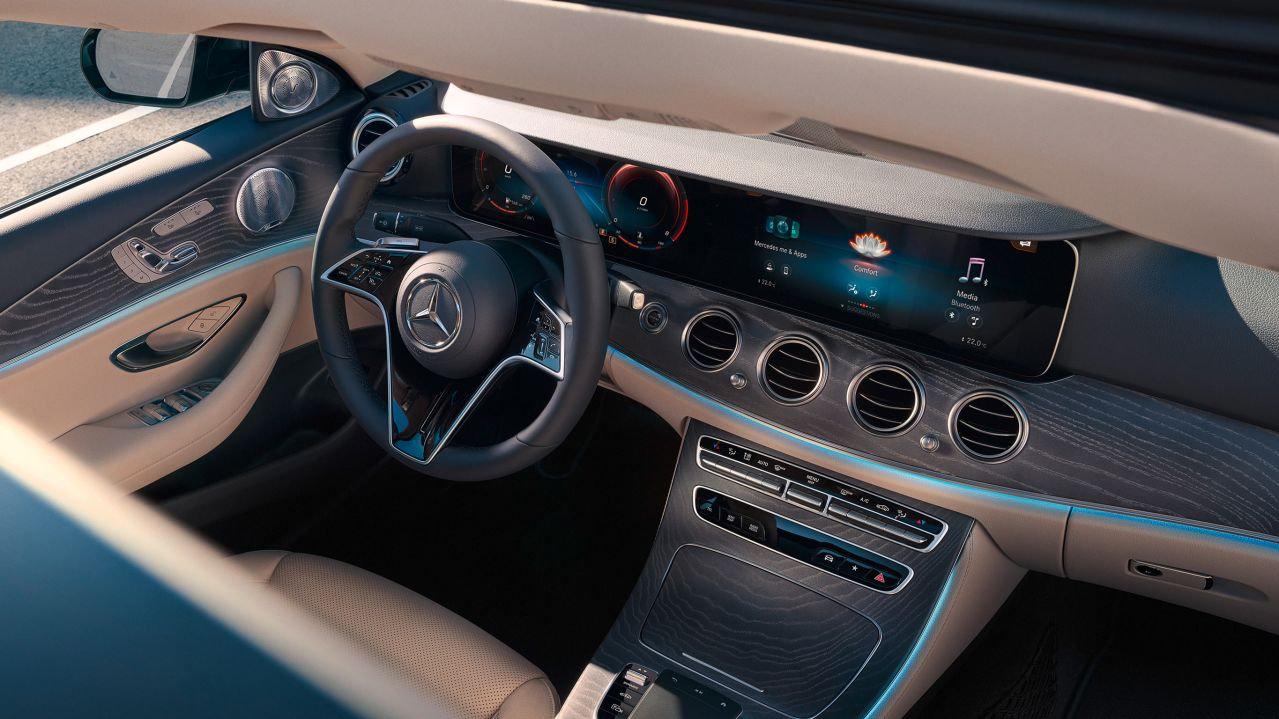 Interior Mercedes Benz E200 Clase E