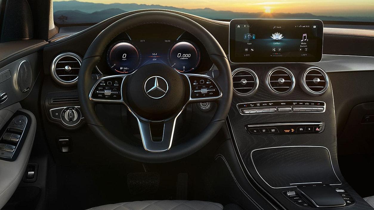 Interior con bolante Mercedes Benz C200 Clase C