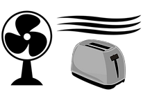 Simplified Electric Furnace Illustration
