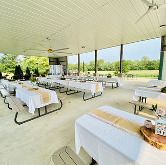 Wedding Tables at the Brookdale Farms Pavilion.jpg