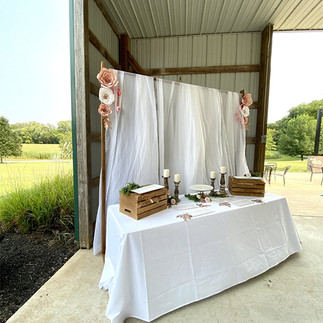 pavilion at Brookdale Farms - Wedding Gift or Cake table.jpg