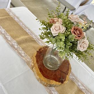Table Centerpiece at Brookdale Pavilion Wedding.jpg