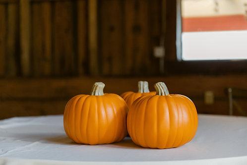 Small Pumpkin Trio