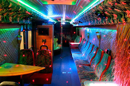 Hawaiian Limo Bus Interior - All About Y