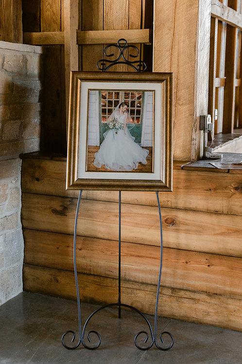 Floor Standing Picture Frame Holder