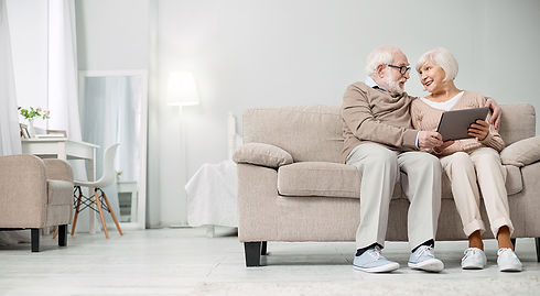 Elderly Couple Aging in Place with SOS R