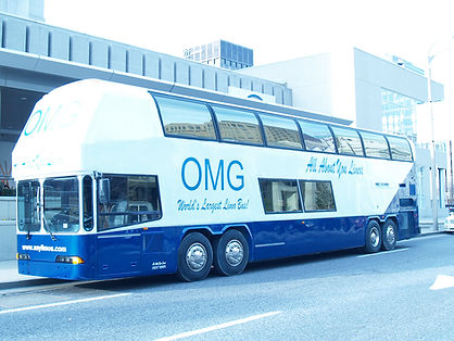 OMG Mega Limo Bus - All About You Limos