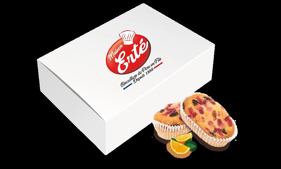 Carton de 90 Mini Cakes Aux Fruits soit 2,97kg