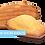 Madeleines artisanales sans sucre ajoutés