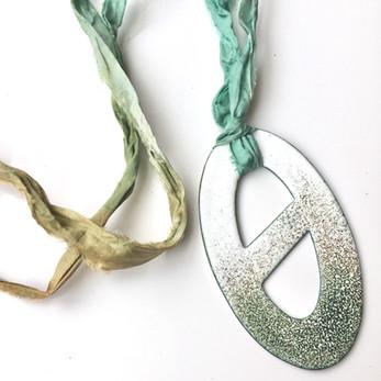 J. Aubrey Jewellery Enamel Necklace