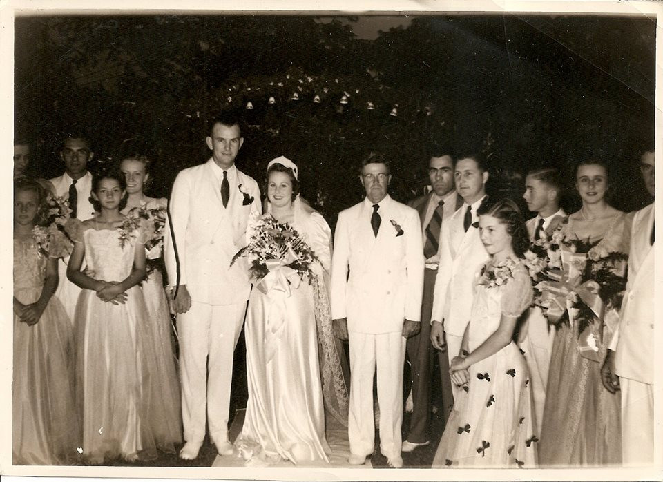 Grandparents Wedding - Inspiration for J. Aubrey Brand Name