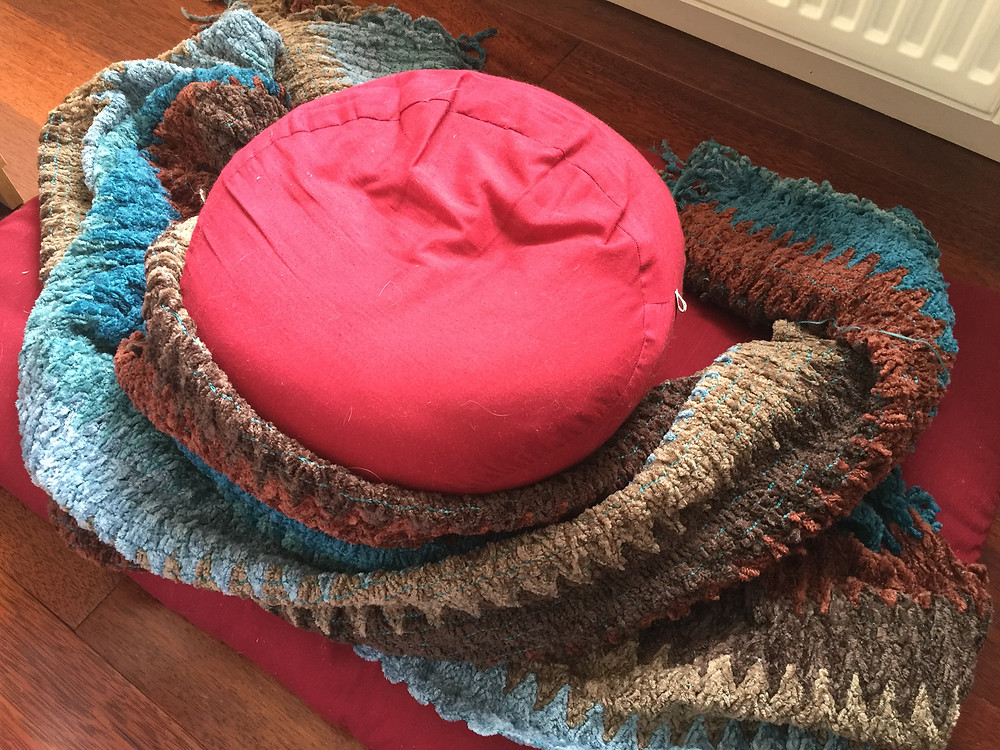 My meditation cushions