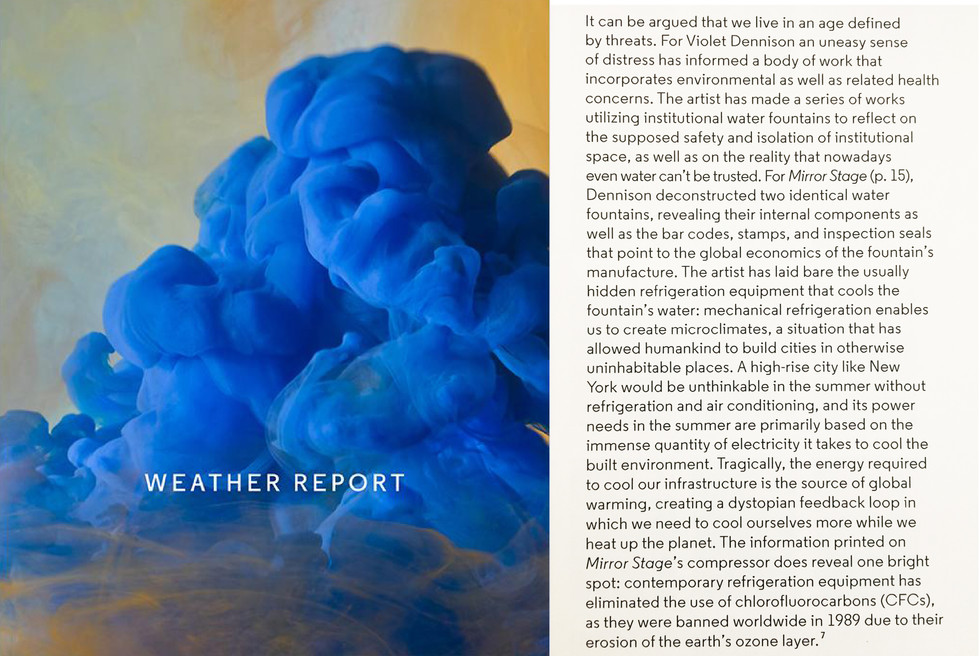 Weather Report @ the Aldrich Museum