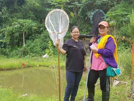 Emerging Citizen Scientists Gain Skills To Further Protect Babagon Watershed