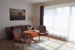 Wohnraum mit Terrasse - Appartement