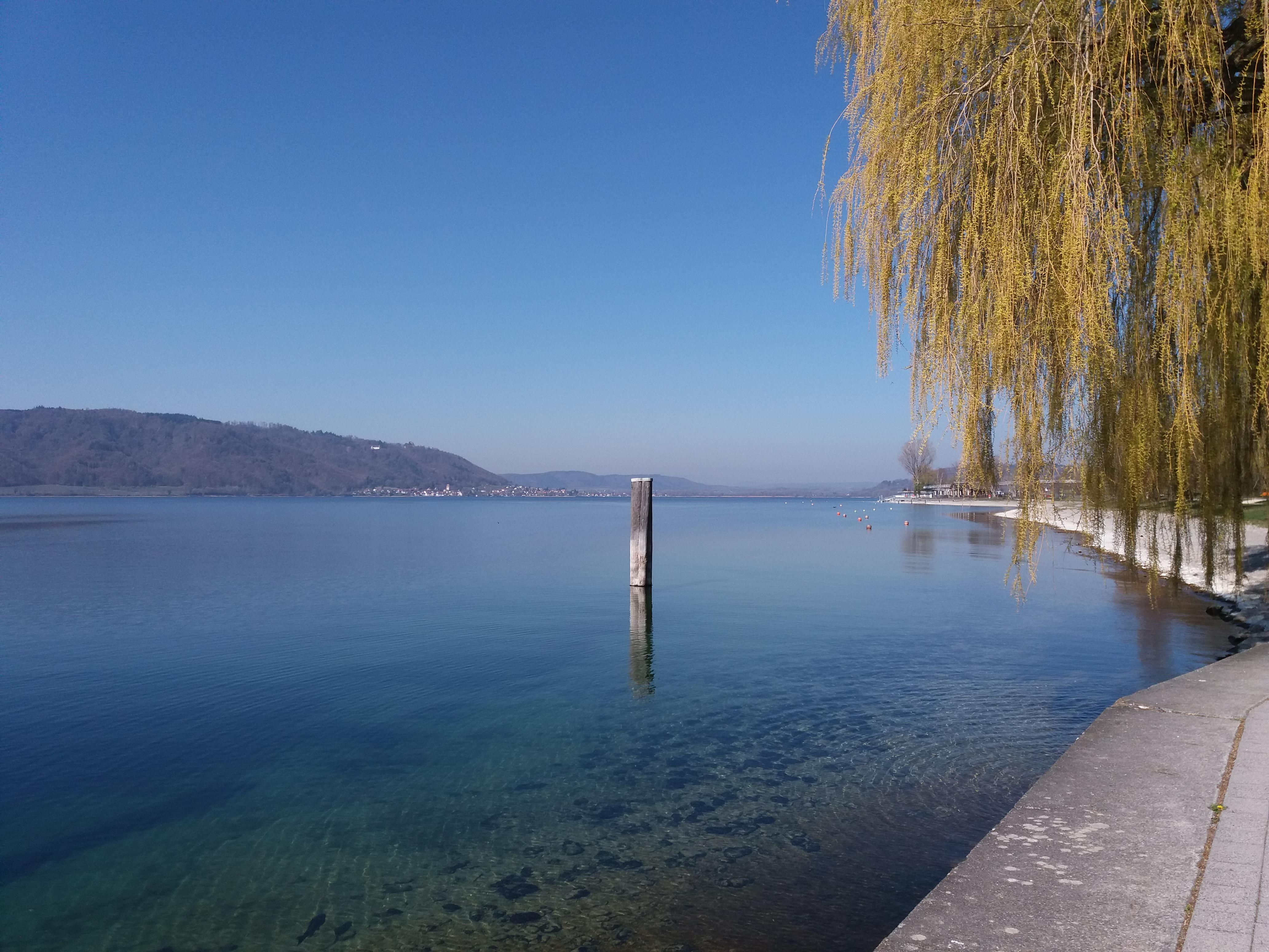 entspannte Momente am See