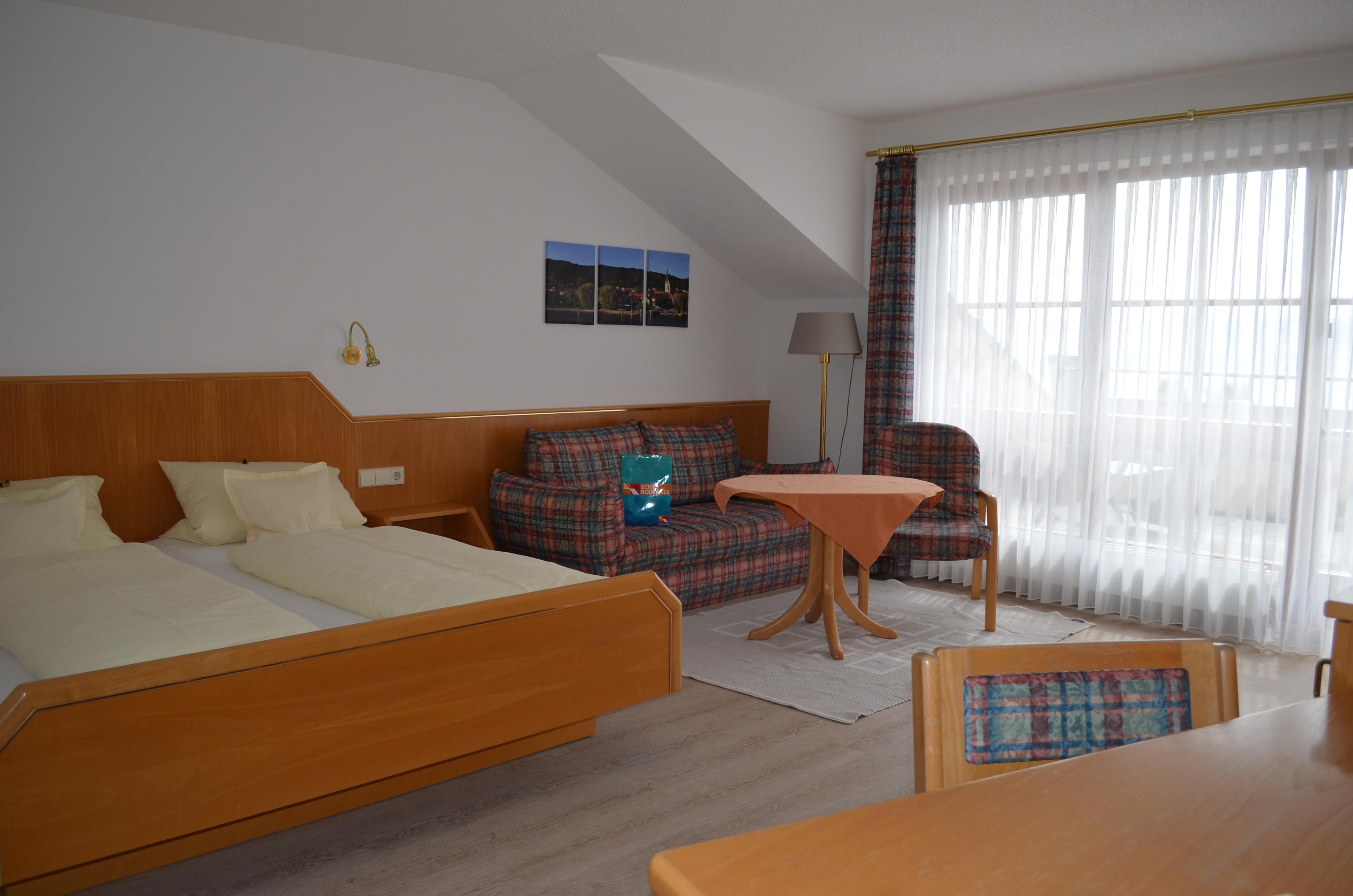 Doppelzimmer mit Terrasse (Kat A)