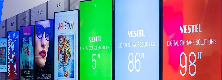"""Vestel 43"""" SOC 400 Nits Bilgilendirme Ekranı"""