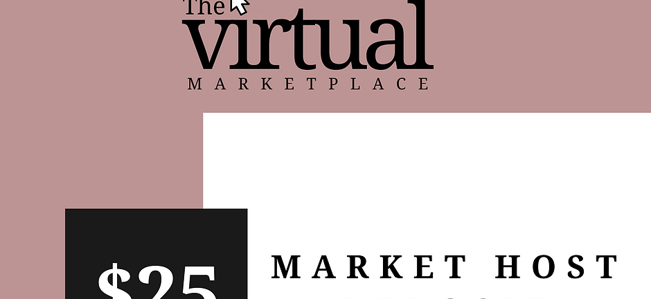 $25 Market Host Deposit
