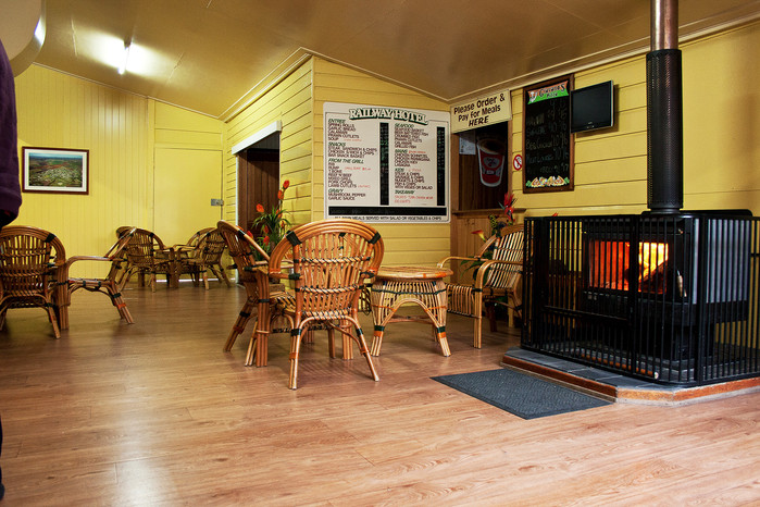 Lounge area - Railway Hotel