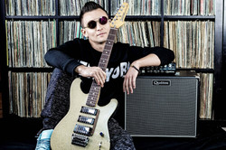 Denis with Quilter Labs Amp and custom m