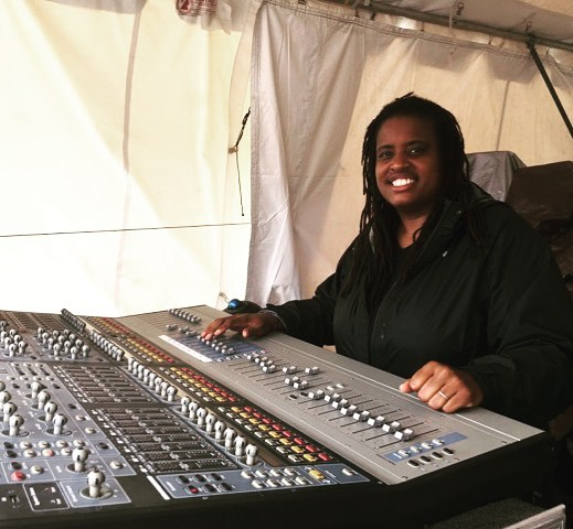 Mixing FOH at Newport Jazz Festival