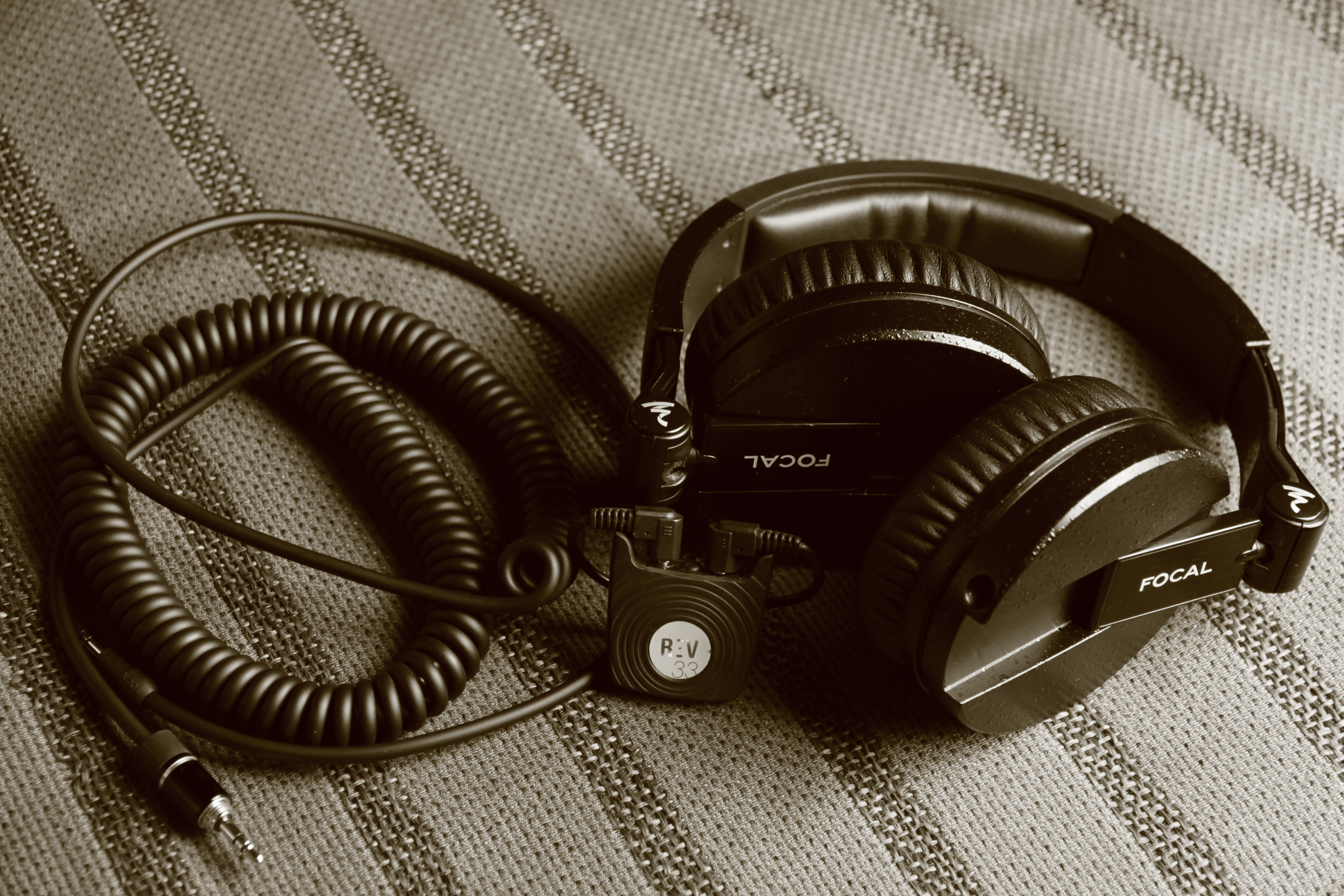 Focal Spirit headphones with Rev33