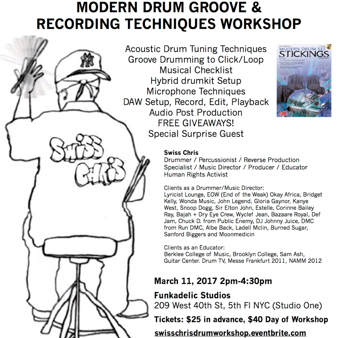 Drum & Recording Workshop