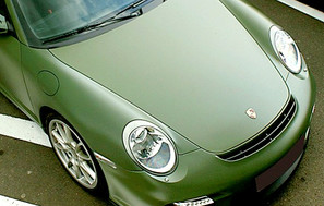 Peinture covering pelable Porsche - Sarthe 72 ( 30min le Mans )