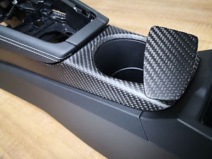 Recouvrement fibre de carbone haut de gamme pièce auto