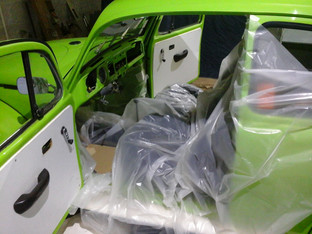 Fabrication piece auto en composite carbone sur-mesure